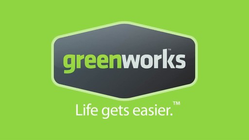Greenworks 4A Electric Hedge Trimmer - image 10 from the video