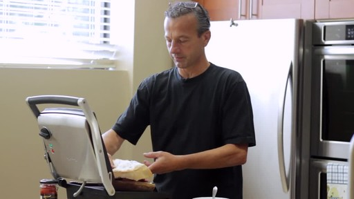Breville Panini Maker - Dan's Testimonial - image 4 from the video