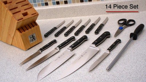 Henckels Classic Forged 14 piece Elite knife set - image 6 from the video
