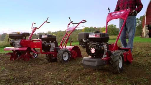 Troy-Bilt Vertical Tine Tiller - image 10 from the video