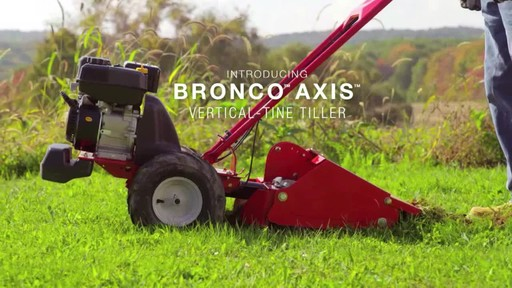 Troy-Bilt Vertical Tine Tiller - image 2 from the video