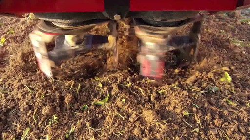 Troy-Bilt Vertical Tine Tiller - image 4 from the video