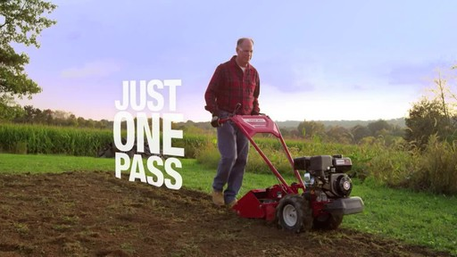 Troy-Bilt Vertical Tine Tiller - image 5 from the video