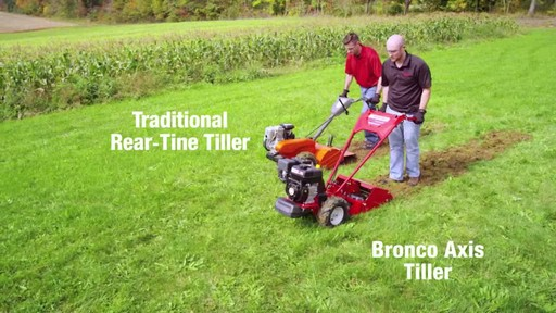 Troy-Bilt Vertical Tine Tiller - image 6 from the video