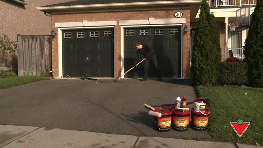 How to Apply Driveway Sealer - image 1 from the video