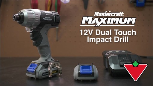 Mastercraft Maximum 12V Dual Touch Impact Drill - image 1 from the video