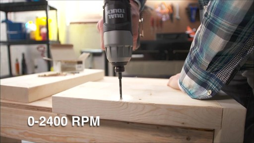 Mastercraft Maximum 12V Dual Touch Impact Drill - image 2 from the video