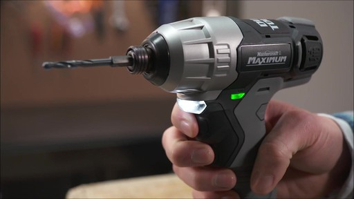 Mastercraft Maximum 12V Dual Touch Impact Drill - image 4 from the video