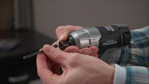 Mastercraft Maximum 12V Dual Touch Impact Drill - image 8 from the video