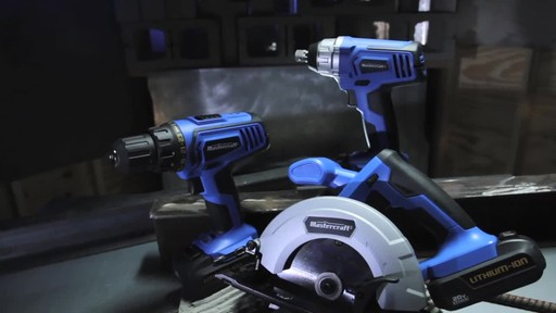 Mastercraft 20V Max Lithium-Ion Cordless Circular Saw - image 3 from the video