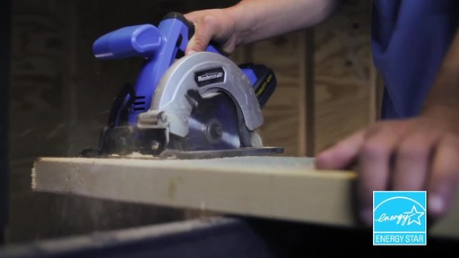 Mastercraft 20V Max Lithium-Ion Cordless Circular Saw - image 5 from the video