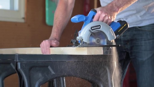 Mastercraft 20V Max Lithium-Ion Cordless Circular Saw - image 8 from the video