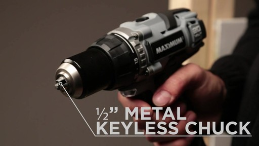 MAXIMUM Lithium Drill and Impact Driver - image 5 from the video