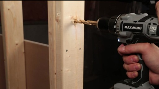 MAXIMUM Lithium Drill and Impact Driver - image 7 from the video