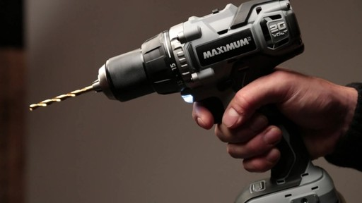 MAXIMUM Lithium Drill and Impact Driver - image 8 from the video