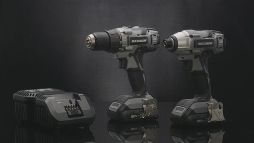 MAXIMUM Lithium Drill and Impact Driver - image 9 from the video