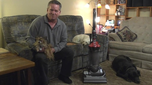 Dyson DC33 Multi Floor Upright Vacuum - Brian's Testimonial - image 10 from the video