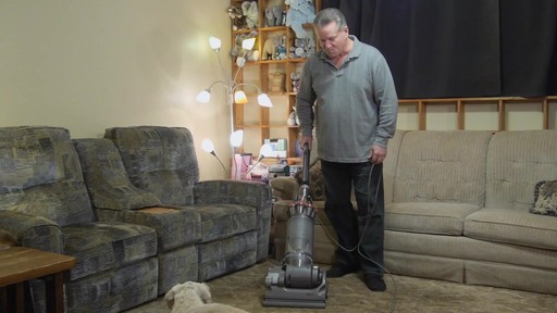 Dyson DC33 Multi Floor Upright Vacuum - Brian's Testimonial - image 4 from the video