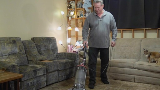 Dyson DC33 Multi Floor Upright Vacuum - Brian's Testimonial - image 6 from the video