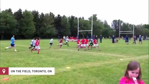 Playing for Canada on the rugby field - image 6 from the video