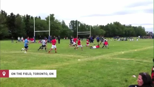 Playing for Canada on the rugby field - image 7 from the video