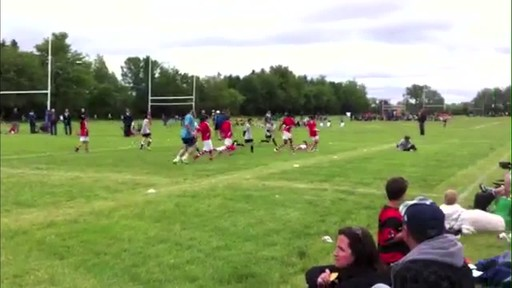 Playing for Canada on the rugby field - image 8 from the video