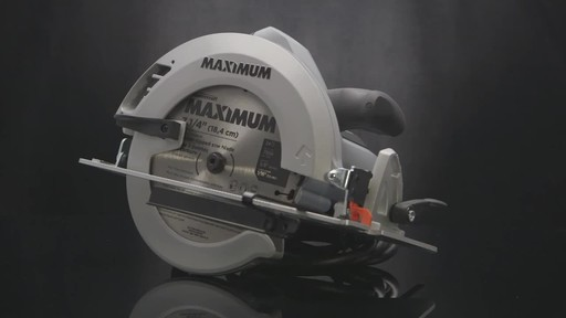 MAXIMUM Circular Saw - image 9 from the video