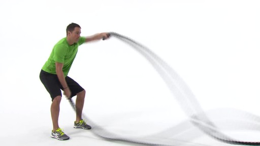 Spri Ignite Cross Train Conditioning Rope - image 4 from the video