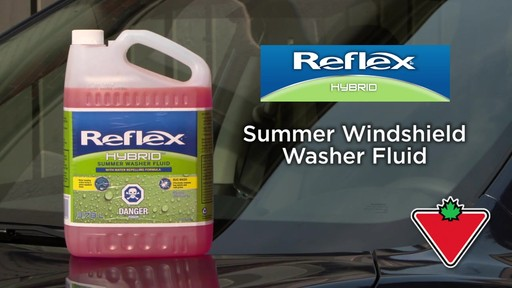 Reflex Hybrid Summer Washer Fluid - image 1 from the video