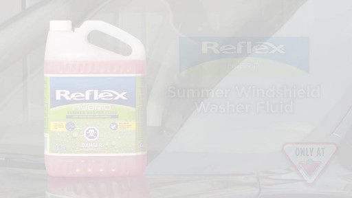 Reflex Hybrid Summer Washer Fluid - image 10 from the video