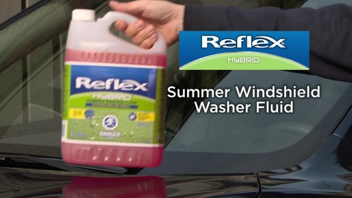 Reflex Hybrid Summer Washer Fluid - image 2 from the video