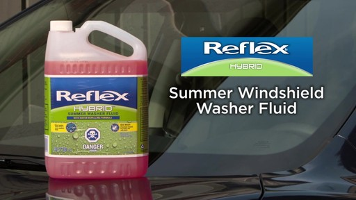 Reflex Hybrid Summer Washer Fluid - image 9 from the video