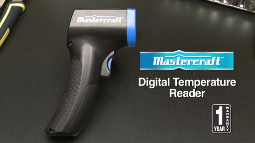 Mastercraft Digital Temperature Reader - image 10 from the video