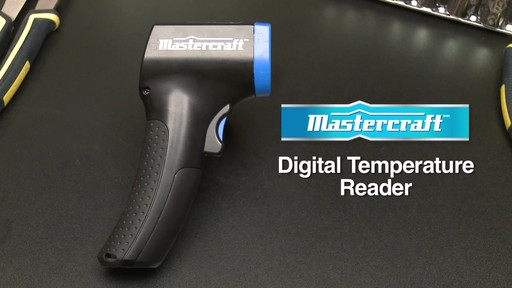 Mastercraft Digital Temperature Reader - image 9 from the video