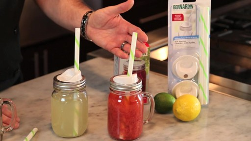 Bernardin Sip & Straw Lids - image 5 from the video