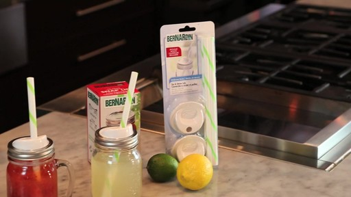 Bernardin Sip & Straw Lids - image 9 from the video