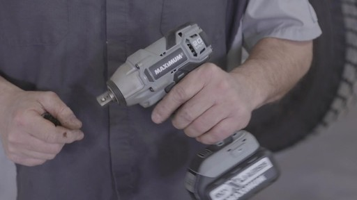 Maximum 20V Impact Wrench - Ken's Testimonial - image 2 from the video