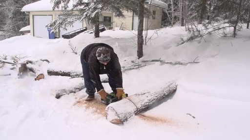 Greenworks 80V Cordless Chainsaw - Arlene's Testimonial - image 9 from the video