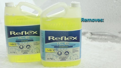 Reflex ICE-490 Windshield Washer Fluid - image 5 from the video