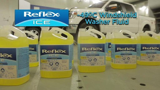 Reflex ICE-490 Windshield Washer Fluid - image 9 from the video