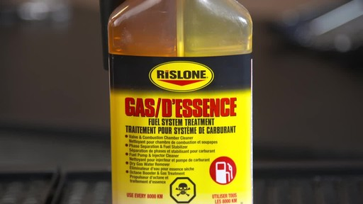 Rislone Gasoline Fuel System Treatment - image 4 from the video