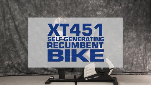 The Xterra XT451SGR Self Generating Recumbent Bike - image 1 from the video