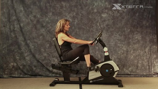 The Xterra XT451SGR Self Generating Recumbent Bike - image 2 from the video