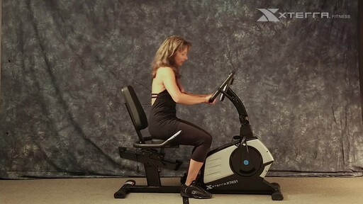 The Xterra XT451SGR Self Generating Recumbent Bike - image 4 from the video