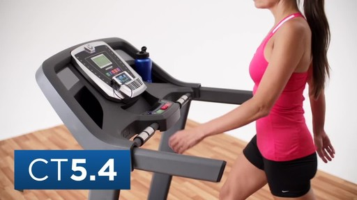 Horizon CT5.4 Treadmill - image 10 from the video