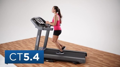 Horizon CT5.4 Treadmill - image 2 from the video