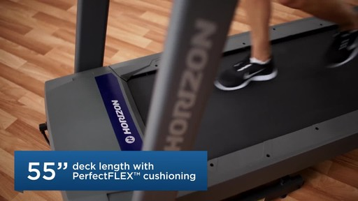 Horizon CT5.4 Treadmill - image 5 from the video