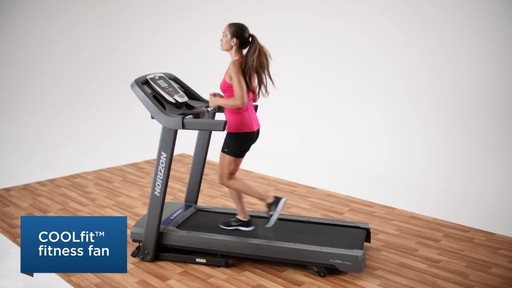 Horizon CT5.4 Treadmill - image 7 from the video