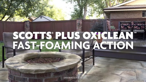 Scotts Concentrate Oxi Outdoor Cleaner     - image 6 from the video