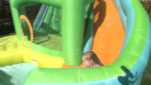 Little Tikes 2-in-1 Wet Dry Bouncer - Charissa's Testimonial - image 2 from the video